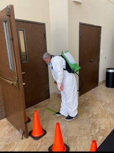 Our CDC approved sanitization services during COVID-19