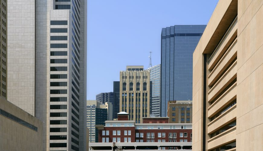 Urban commercial Cleaning in downtown Dallas
